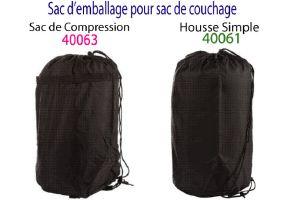 housse emballage pour sac de couchage sac de compression