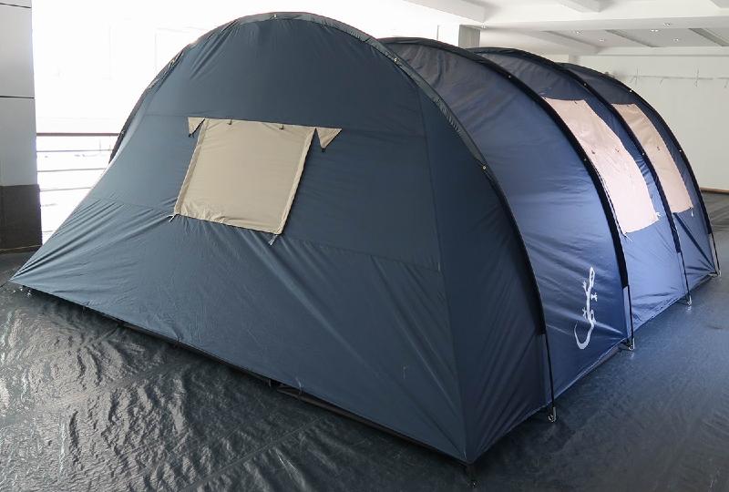 Tente familiale 6 7 personnes tente de camping familiale for Tente 4 chambres