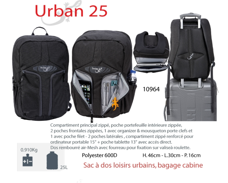 Sac Pour 25 15 Bagage Urban L Cabine Portable Dos À Ordinateur wOkXP08n