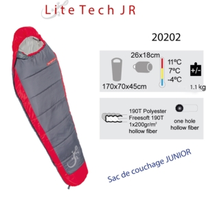 Lite Tech Jr - Sac de couchage Junior - sacs de couchage enfant