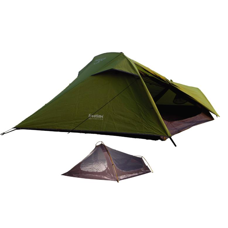 Tentes camping 2 4 places tentes randonn e tente for Tente 3 chambres pas cher