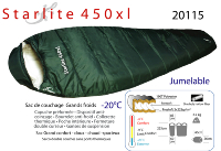 Starlite 450XL sac momie XL grand froid [-4°|-9°|-20°]
